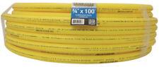 Gas Pipeline 3/4 Yellow Polyethylene Pipe HOME FLEX Underground IPS Medium Large