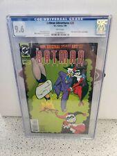 CGC 9.6 BATMAN ADVENTURES #28 DC COMICS 1/95 JOKER & HARLEY APP