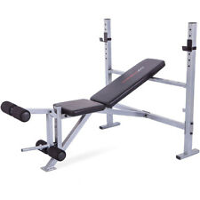 Weight Bench Press Weightlifting Exercise Workout Fitness Leg Extension New