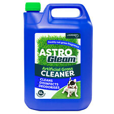 Artificial Grass Cleaner Fake Astro Turf Lawn Deodoriser Dog Cat Disinfectant 5l