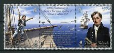 Pitcairn Isl 2017 MNH Robert Pitcairn 1st Sighting 2v Set Boats Ships Stamps