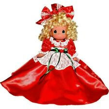 "Precious Moments 12"" Christmas HEARTFELT TRADITIONS BLONDE Doll"