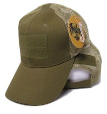 Coyote Mesh Operator Operators Tactical Cap Hat Patch adjustable strap