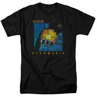 Def Leppard Rock Band PYROMANIA Licensed Adult T-Shirt All Sizes