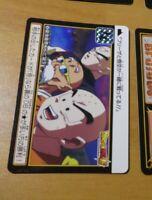 DRAGON BALL Z DBS DBZ HONDAN PART 37 CARDDASS CARD REG CARTE 36 JAPAN MINT NEUF