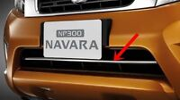 NISSAN NAVARA/NP300 2015 DOUBLE CAB KING CAB GENUINE CHROME FRONT LOWER GRILLE