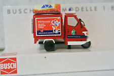 Busch 48474 Piaggio Ape Augsburg Fire Department German Writing  NIB