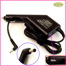 Laptop Car DC Adapter Charger & USB For ASUS VivoBook X200LA-CT029H X202E-DB91