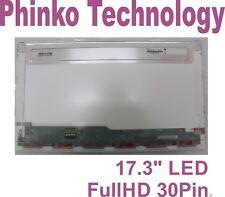 "B173HTN01.1 N173HGE-E11 17.3"" LED LCD Screen 1920x1080 HD Display eDP 30Pin"
