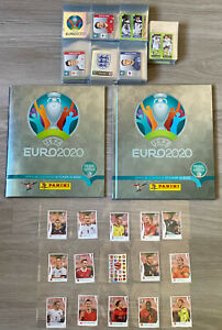 Panini Pearl Euro 2020 Swiss Limited Edition Full Set Of Stickers & Both Albums!