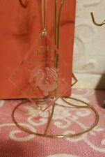 Hallmark Twelve Days of Christmas Four Colly Birds 1987 Acrylic Ornament