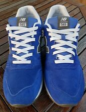 NB 565 BLUE SUEDE NEW ejecutando BALANCE Zapatillas Size UK 10
