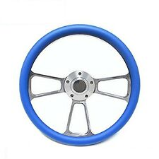 "New World Motoring Kubota, Tomberlin Golf Cart 14"" Sky Blue Steering Wheel In..."