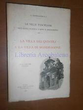 LE VILLE TUSCOLANE, LA VILLA DEI QUINTILI E LA VILLA DI MONDRAGONE - 1901