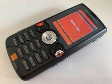 Sony Ericsson Walkman W810i - Satin black (Orange) Mobile Phone