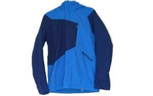 Burton Blue Winter Dry Ride Jacket Size L Ski Activewear Snow Sport Hooded