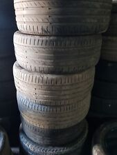 x4 225/45/17 continental contact sport 5 tyres
