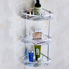 Wall Corner Rack Holder Bathroom  Shower Caddy Shelf Triangular