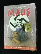 MAUS I & MAUS II, Graphic Novels Boxed Edition by Art Spiegelman Pantheon NICE!!