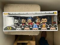 Mickey Mouse 50th 5 Pack Walt Disney Archives Funko Pop Vinyls New in Box