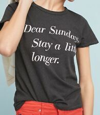 Anthropologie (Junk Food) Dear Sunday Graphic Tee (S) NWT - $68.00