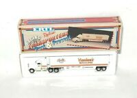 1992 Ertl Racing Transporters Truck Hauler die cast Cale Yarborough Hardee's