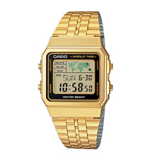 Casio A500WGA-1DF Stainless Steel Resin Strap Watch