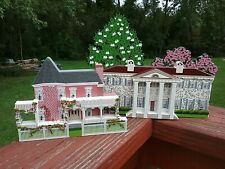 Shelia's Twelve Oaks & Aunt Pittypats Gone With The Wind Homes Plus 1 Tree