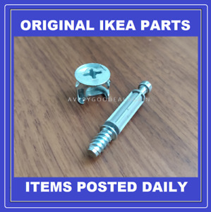 IKEA Cam Nuts and Screws replacement spares parts 118331 113434 GENUINE PRODUCT