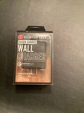 Outdoor Tech. Quick Charge Usb Wall Charger Qualcomm 3.0 New
