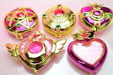 Bandai Sailor Moon Gashapon transformation Compact Mirror mini Figure
