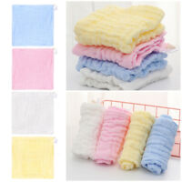Soft Cotton Baby Infant Newborn Bath Towel Washcloth Feeding Wipe Cloth  Hot