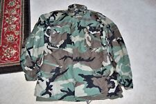 Military Coat Cold Weather Field Camouflage Camo 8415-01-228-1317 medium Long