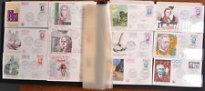 France Collection FDC CV$6030.00 1945-1957 Large Cacheted Fdc In Oversize Album