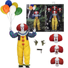 "NECA IT Pennywise Clown 1990 Ultimate 7"" Action Figure 1:12 Movie Doll 2018 New"