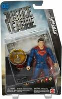 """DC JUSTICE LEAGUE 6"""" SUPERMAN ACTION FIGURE CHARACTER FULLY POSABLE COMIC FIGURE"""