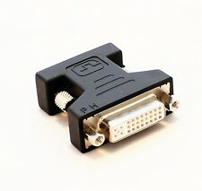 DVI-I DVI FEMALE TO VGA MALE MONITOR F CONVERTER VIDEO ADAPTOR 15 29 PIN SVGA
