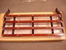 1928 1929 1930 1931 Ford Model A Luggage Rack Chrome Wood NICE!