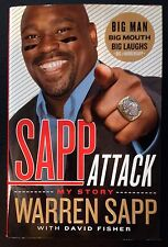 "WARREN SAPP Signed Autographed ""Sapp Attack"" Book w/ QB Killa Insc First Edition"