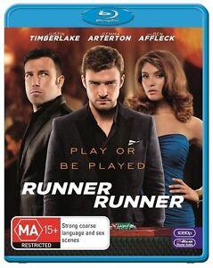 Runner Runner (Blu-ray, 2014)*Terrific Condition*Justin Timberlake
