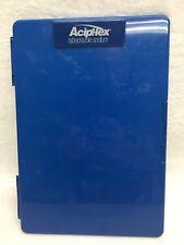 Aciphex Drug Rep Pharmaceutical Storage Slimline Clipboard Rx Advertisement