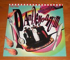 The Time Pandemonium Poster 2-Sided Flat Square 1990 Promo 12x12 RARE