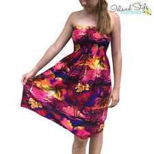 Unbranded Rayon Machine Washable Floral Dresses for Women