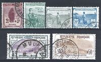 "FRANCE STAMP 148 / 153 "" PREMIERE SERIE ORPHELINS 6 TIMBRES "" OBLITERES TB  P530"