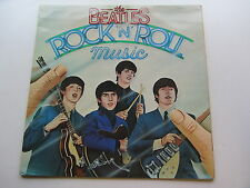 THE BEATLES  1976 UK LP ROCK AND ROLL MUSIC