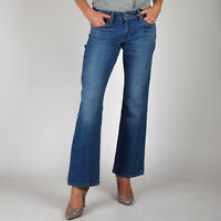 Levi's 529 Curvy Bootcut Beach Tide Damen Mittel Blau Jeans DE 38 / US W31 L32