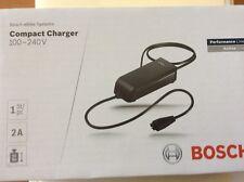 Bosch e-bike Compact Battery Charger USA Model, fits Haibike, Bulls, etc.