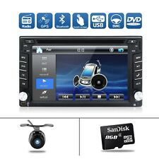 "6.2"" Car DVD Player Radio Stereo Double 2 DIN GPS SAT NAV MP3 AUX USB Bluetooth"