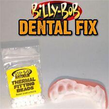 Vestido de lujo Adhesivo de dientes cuentas Térmico-de Billy Bob Dental falso falso Fix