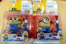 Despicable Me: 2x Minions action figures 17cm tall Play Set with Sound & Light!